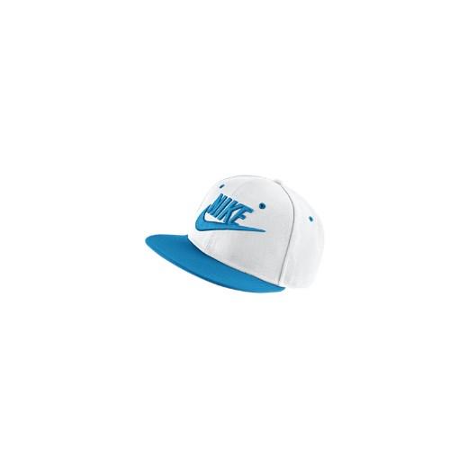 5388184a5 Regulowana czapka dla dużych dzieci Nike Futura True - Biel niebieski Nike  One Size