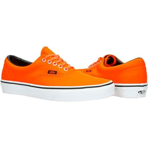 vans era pomarańczowe