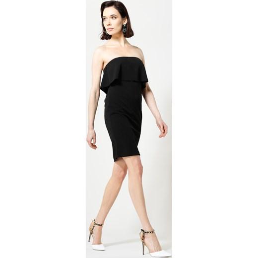 95e76f26cd Czarna Sukienka Falbala Renee uniwersalny Renee odzież ...