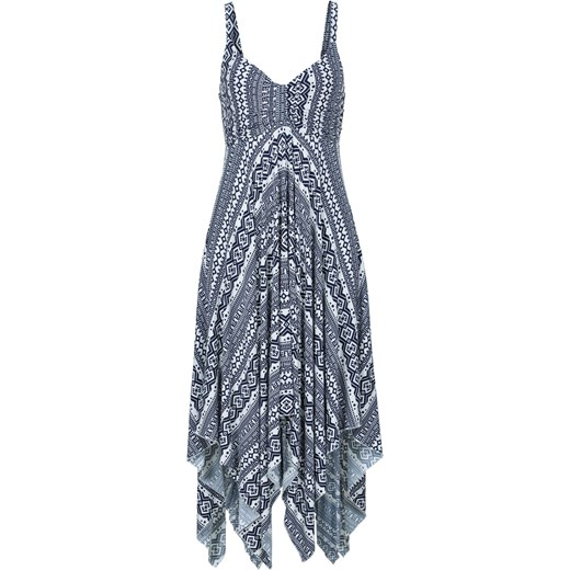 15fc4b79b1 Must-have  sukienka z asymetryczną linią dołu BODYFLIRT bonprix w Domodi