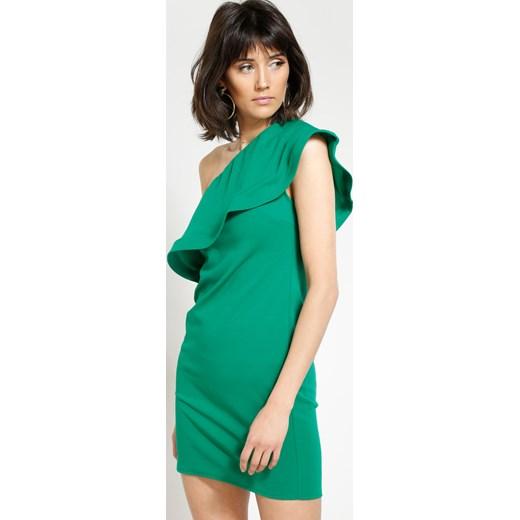 57593fa741 Zielona Sukienka Broken Heart Renee uniwersalny Renee odzież ...