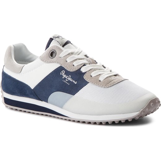 5fa0925d12155 Sneakersy PEPE JEANS - Garret Sailor PMS30405 White 800 Pepe Jeans szary 43  eobuwie.pl