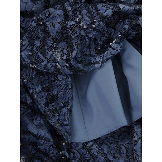 0aafd0d101 Koronkowa sukienka wykończona cekinami Sawira