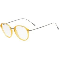 d9e4cfa4e56af9 Żółte okulary korekcyjne męskie giorgio armani, lato 2019 w Domodi