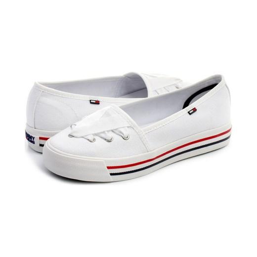 84ab10e8ad781 Tommy Hilfiger Damskie Nice 9 Tommy Hilfiger szary 40 Office Shoes Polska