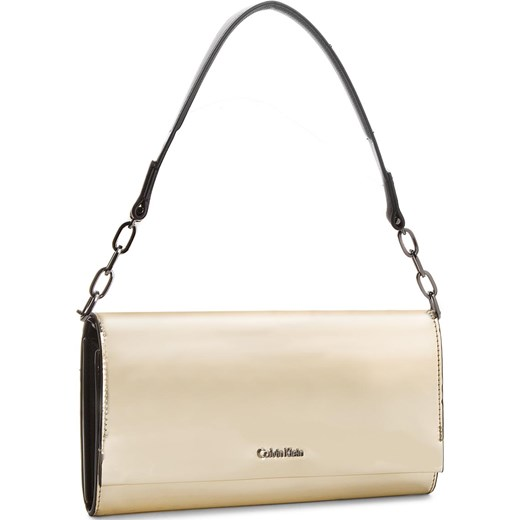 8128191400ee4 Torebka CALVIN KLEIN BLACK LABEL - Instant Clutch On Chain Metalic  K50K604195 702 Calvin Klein Black