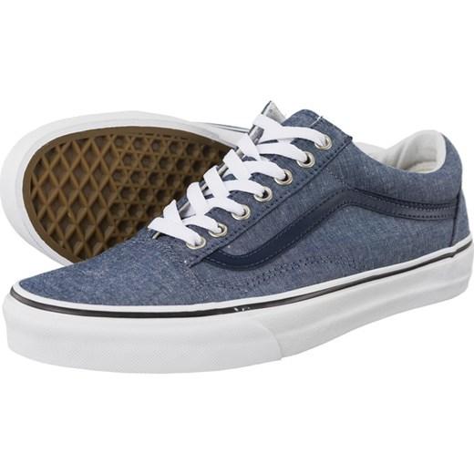 buty vans old skool niebieskie