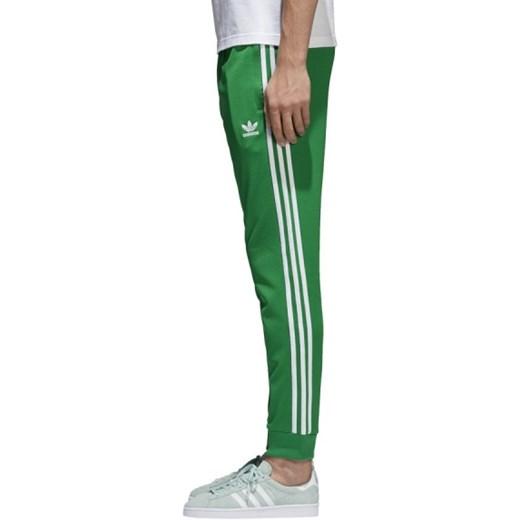 Spodnie adidas Originals SST Trackpants CW1278 zielony sneakerstudio.pl