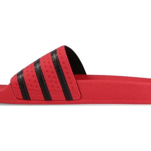 klapki adidas Adilette czerwone