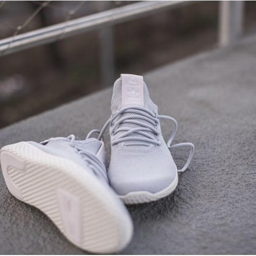 1c6f29692 Buty damskie sneakersy adidas Originals Pharrell Williams Tennis Hu DB2553  - SZARY sneakerstudio.pl w Domodi