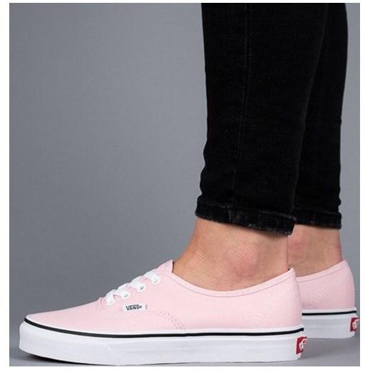 Buty damskie sneakersy Vans Authentic Chalk VA38EMQ1C RÓŻOWY sneakerstudio.pl