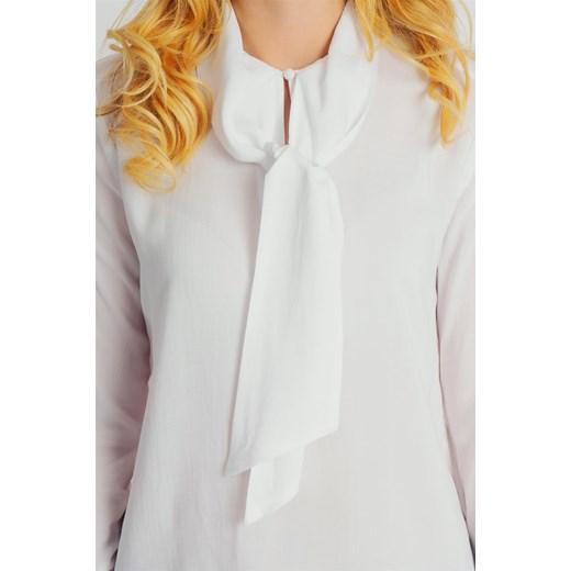 9ca26da245 ... Bluzka damska wiązana pod szyją elegancka biała Fresh Made Fresh Made M  wyprzedaż cityruler2018 ...