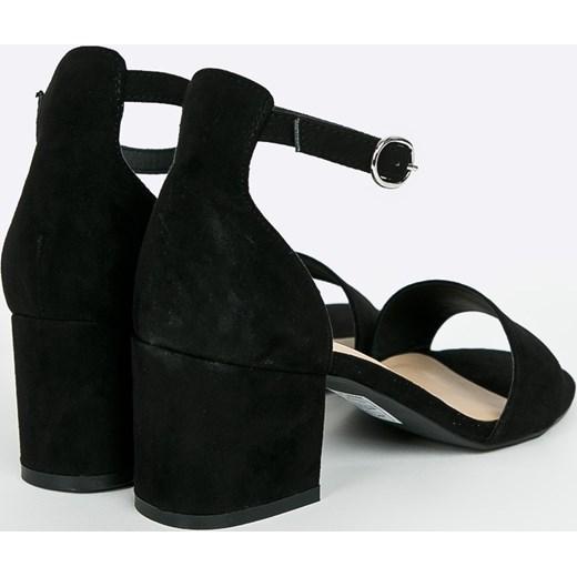 Bullboxer sandały damskie ze skóry Buty Damskie QR czarny