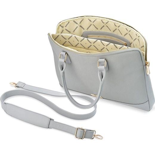 50436ce07110a ... Stylowa torba na laptop monnari torebka damska aktówka – szary Monnari  promocja world-style.