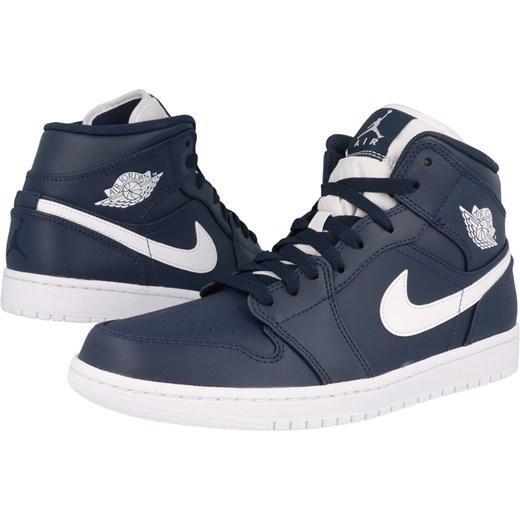 buty Nike męskie Air Jordan 1 554724 402 Skechers szary SMA