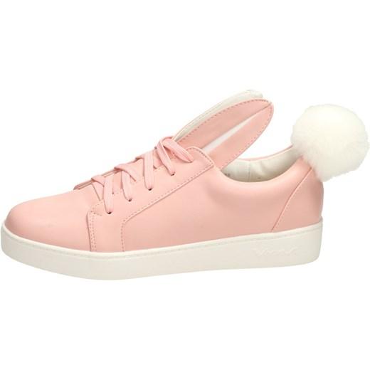 bacaee7db3cc1 Różowe buty damskie VICES 7117-20 KRÓLICZEK suzana.pl w Domodi
