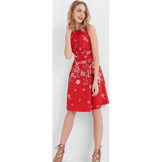 Sukienka Fit & Flare w kwiaty ORSAY