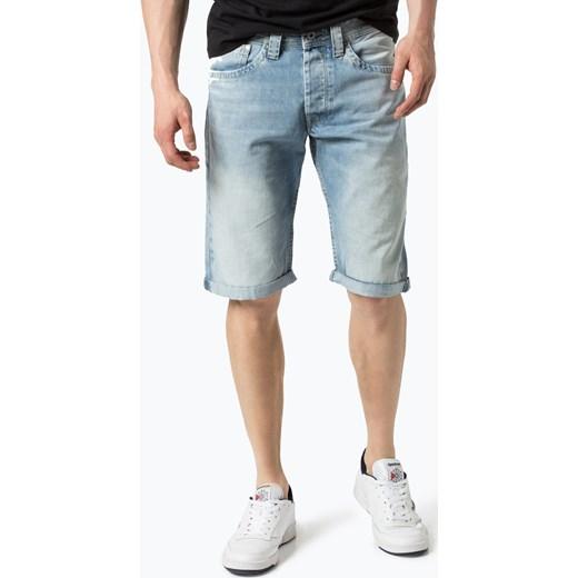 ba4f863554e8a Pepe Jeans - Męskie bermudy jeansowe – Cash, niebieski bialy Pepe Jeans 31  vangraaf