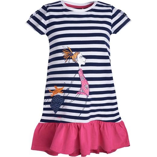 dc99342c9f4ed9 Sukienka z krótkim rękawem dla dziewczynki 9-13 lat Endo 158-164 endo.