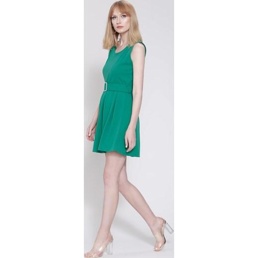 ec83eabf53 Zielona Sukienka Central Park Renee uniwersalny Renee odzież ...