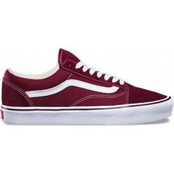 buty vans damskie czerwone