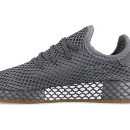 hot sale online b94bd 1c214 ... Buty damskie sneakersy adidas Originals Deerupt Runner J DA9609 - SZARY  36 23 sneakerstudio ...