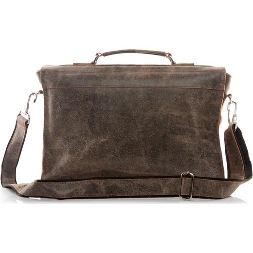 6d67027975e34 ... Męska torba ze skóry naturalnej beżowa BV50 Uk Fashion One Size  Brytyjka.pl okazyjna cena ...