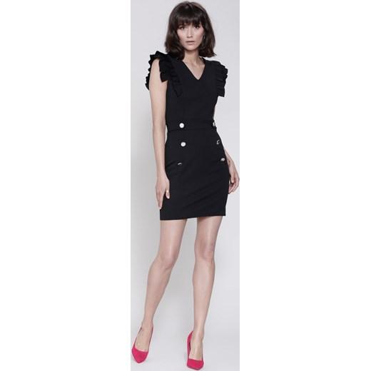 54e279cef0 Czarna Sukienka Show Me Love Renee M Renee odzież ...
