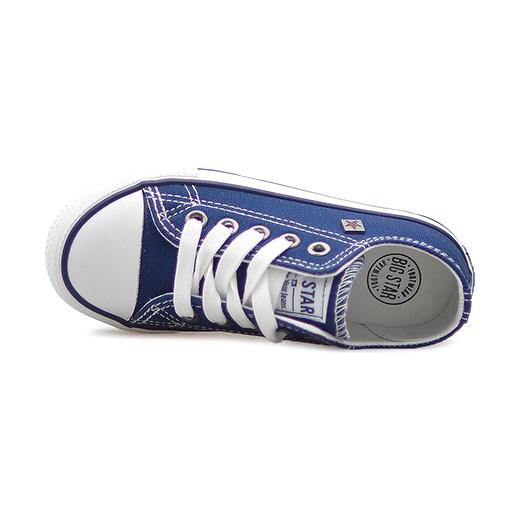 Trampki Big Star W374003 Granatowe Arturo obuwie Buty
