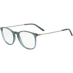 e14eadb49e6513 Szare okulary korekcyjne męskie giorgio armani, lato 2019 w Domodi