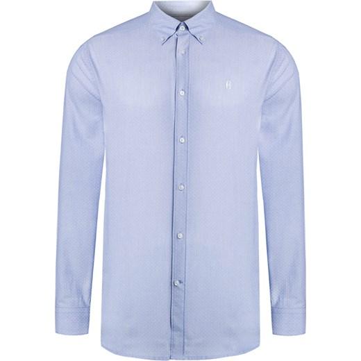 5d4dcdeb860a8a Koszula CONTE OF FLORENCE OREGON niebieski S'portofino w Domodi