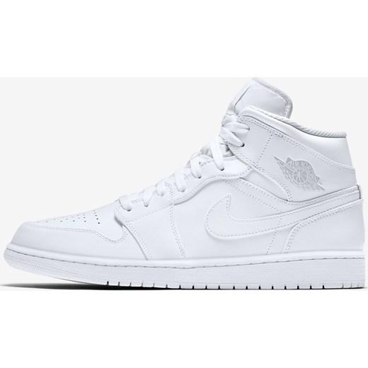 Buty sportowe męskie białe Nike air jordan sznurowane Buty