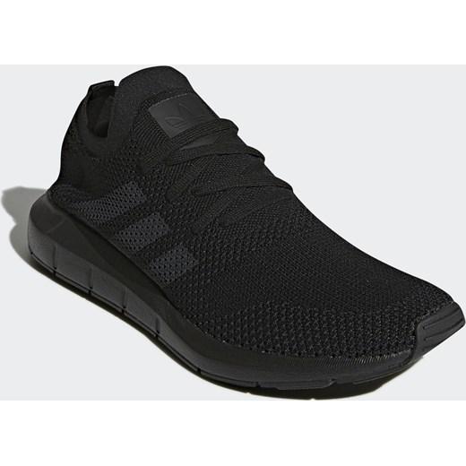 Buty sportowe męskie Adidas Swift Run Primeknit czarne CQ2893
