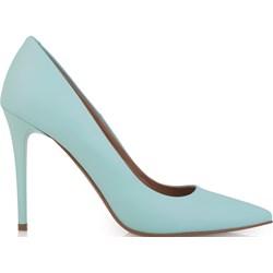 8436f78bcfaa3 Niebieskie buty damskie arturo vicci, wiosna 2019 w Domodi