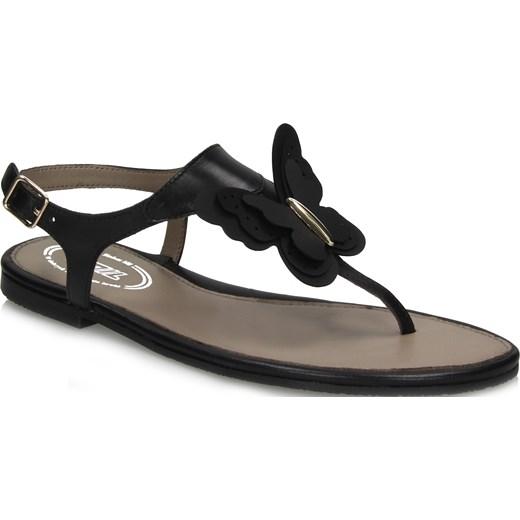 7mil sandały 948178H-0301 Buty Damskie AY czarny Sandały damskie IGNN