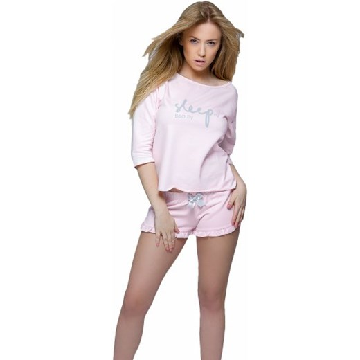 0ceb0c794267d1 Sensis Sleep Komplet różowy Piżama damska Sensis S Ekskluzywna.pl