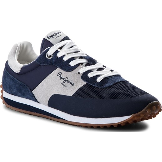 bf847ff0ae937 Sneakersy PEPE JEANS - Garret Sailor PMS30405 Navy 595 eobuwie.pl w ...