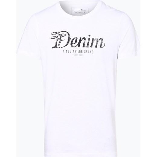 bb1b8afcedca Tom Tailor Denim - T-shirt męski, czarny Tom Tailor Denim XL vangraaf