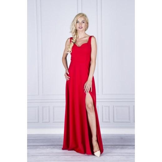 5c0ff8a023 Sukienka wieczorowa maxi Vinci Hit ptakmoda.com w Domodi