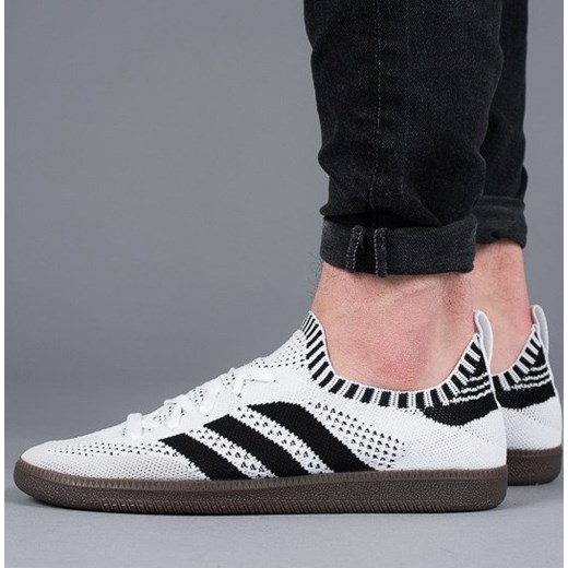 Buty męskie sneakersy adidas Originals Samba Primeknit Sock CQ2217 - BIAŁY Adidas  Originals 44 sneakerstudio. 2ba4255bf
