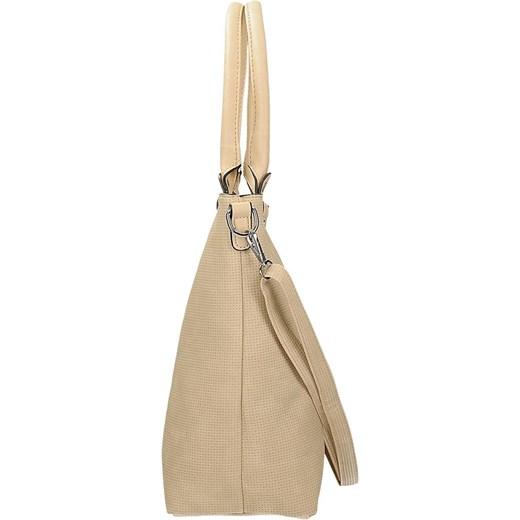 9cb8f16236985 ... Klasyczna torebka damska w kolorze beżowym DANBLINI JK 1223 Danblini  Fashion Di Zdhou Xiaobin rinkopl ...