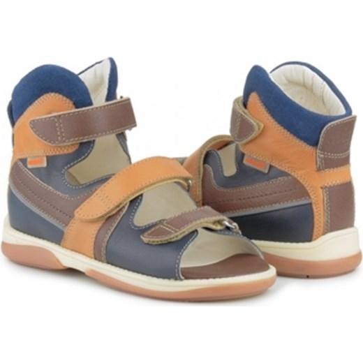 6017ff751523b MEMO Hermes 3FD sandały buty ortopedyczne pomaranczowy WESOŁE BUCIKI ...