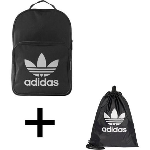 4bc16daaa5b04 Zestaw Plecak Adidas Originals Trefoil czarny - BK6723 + Worek Torba Adidas  Originals Trefoil Gym sack