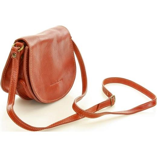 54c5bbd194293 ... Klasyczna torebka skórzana listonoszka MARCO MAZZINI - Cremona camel  Mazzini wyprzedaż Verostilo ...
