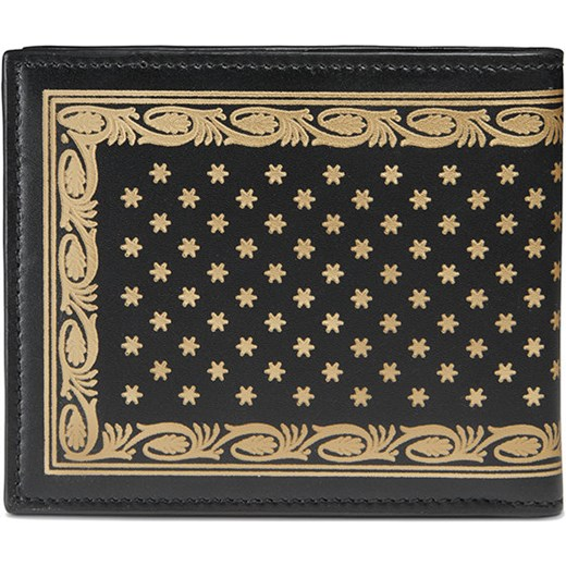701a68bd54e9 ... Gucci Guccy print leather bi-fold wallet - Black Gucci One Size  Farfetch ...