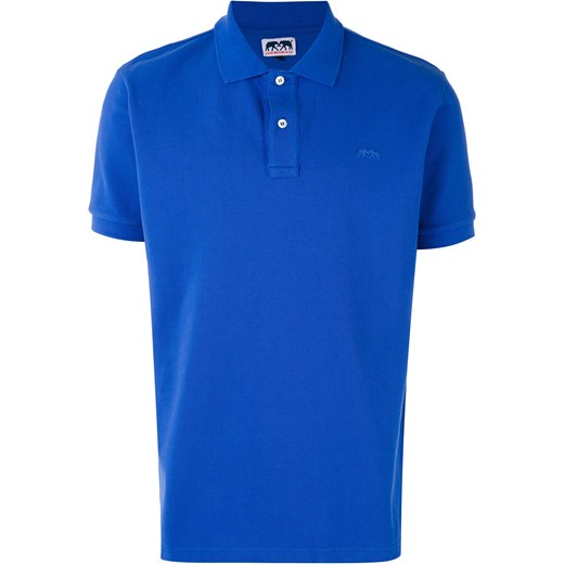 Love brand polo shirt blue farfetch for Love notes brand shirt