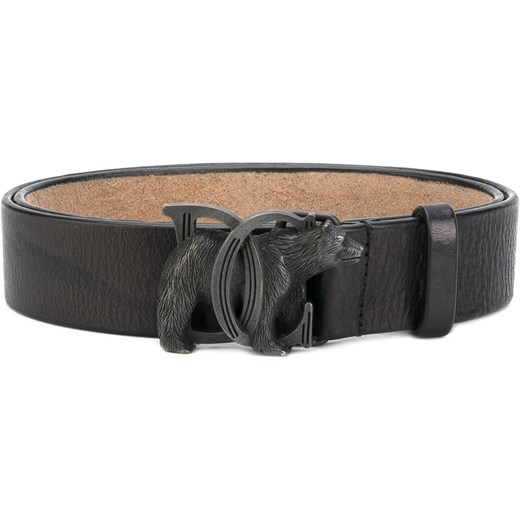 e981b567713401 Dsquared2 bear buckle belt - Black Dsquared2 105 Farfetch