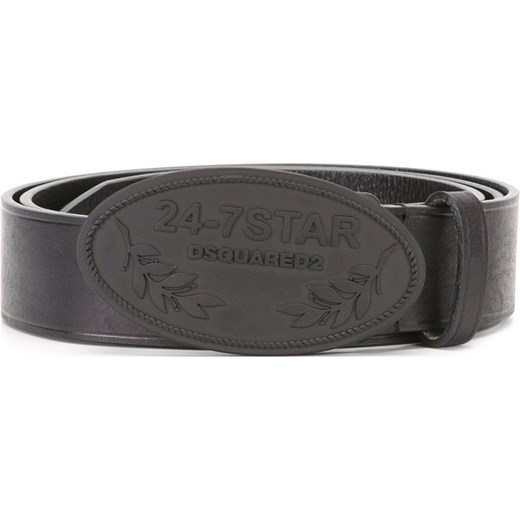 0f642f8be39065 Dsquared2 24-7 buckle belt - Black Dsquared2 95 Farfetch