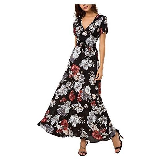 579ccaa5a8 kormei damskie kwiaty maxi sukienka bohema Lang sukienki Boho sukienka  letnia sukienka plażowa impreza