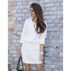 27690ffc Fobya sukienka ołówkowa biała